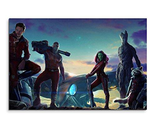Guardians of the Galaxy Movie Wandbild 120x80cm XXL Bilder und Kunstdrucke auf Leinwand