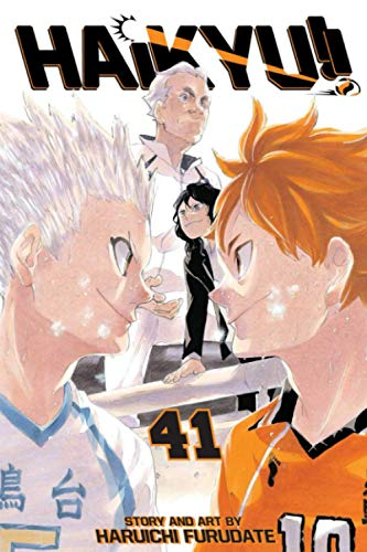 Composition Notebook: Haikyuu Vol. 41 Anime Journal/Notebook, College Ruled 6' x 9' inches, 120 Pages