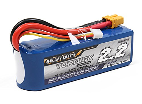 Bateria LIPO 11.1V 2200mah 60C 3S XT60 Plug Turnigy