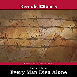 Every Man Dies Alone audiobook cover art