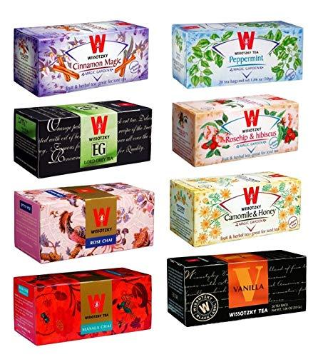 Wissotzky Magic Tea Box Sampler (8 boxes) by KooKoo4Closeouts