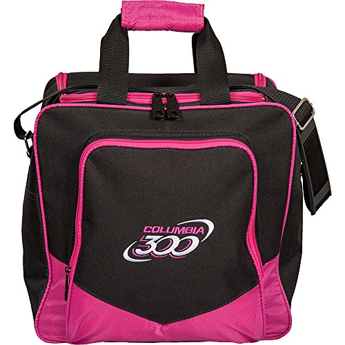 Columbia 300 weiß Dot Single Bowling Bag, C108-61, Rose, Einheitsgröße