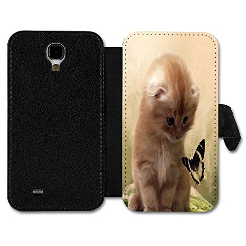 Book Style Flip Handy Tasche Hülle Schutz Hülle Schale Motiv Etui für Huawei Ascend P7 Mini - A4 Design26