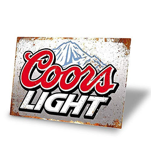 TINSIGNS Coors Light Beer Vintag...