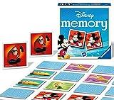 Ravensburger Italy - Disney I Classici personaggi Memory in Formato Pocket, 15x15 cm, Gioc...