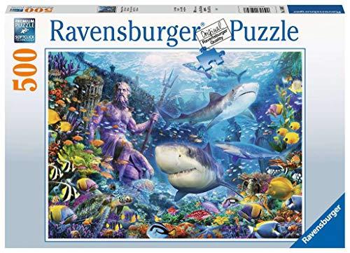 Ravensburger Puzzle 15039 - Herrscher der Meere - 500 Teile Puzzle für Erwachsene und Kinder ab 10 Jahren, Puzzle mit Unterwasserwelt-Motiv