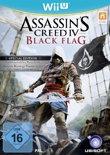 Assassin's Creed 4: Black Flag - Special Edition (exklusiv bei Amazon.de) - [Nintendo Wii U]