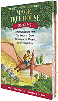 Magic Tree House Boxed Set (Books 1-4) (Paperback)