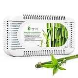 SAGANO - El Mejor Absorbente De Olores Y Purificador De Aire Con Carbon Activado - Desodorante Para El Frigorífico Y El Armario Con Eficacia Probada - Ambientador Casa Que Absorbe Olores