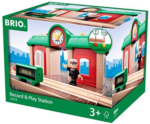 BRIO Bahn 33578 - Sprechender Bahnhof