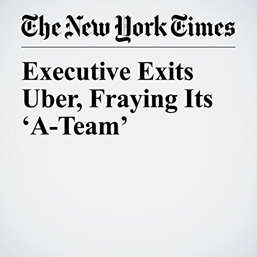 Executive Exits Uber, Fraying Its 'A-Team' copertina