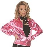 UNDERWRAPS Women's 1950s Satin Greaser Jacket-Fifties, Pink, X-Small