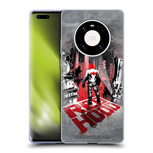 Head Case Designs Oficial Batman: Arkham Knight Capucha Roja Gráficos Carcasa de Gel de Silicona Compatible con Huawei Mate 40 Pro 5G