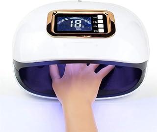 72W UV 30 LED lámpara de uñas para esmalte de gel, secador de uñas con sensor de configuración de 4 temporizadores, función de blanqueamiento secador de lámpara de uñas para uñas y uñas de los pies