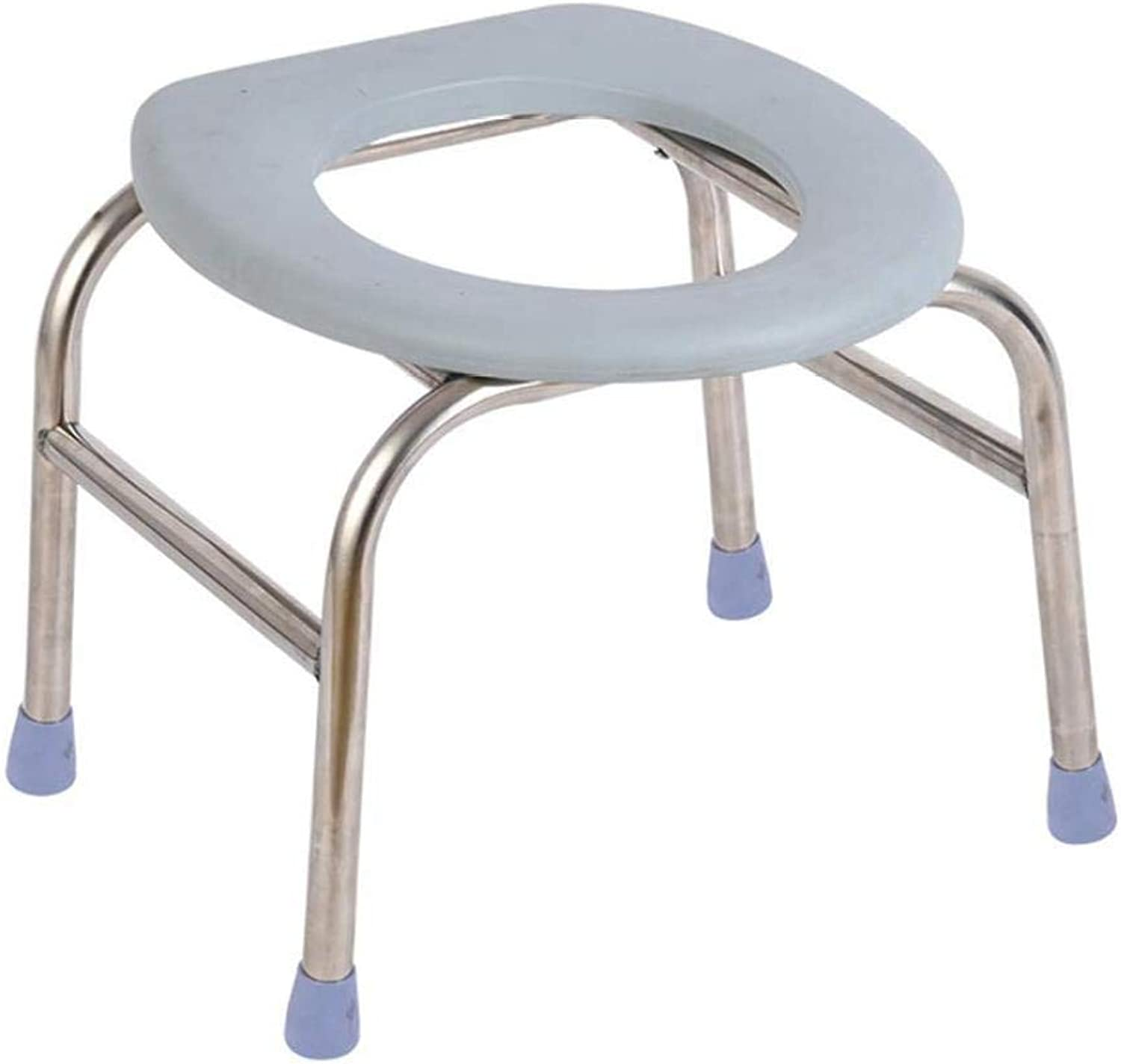 Portable Bathroom Bench, Bathroom Bench, Commode Chair, Padded Toilet seat, Adjustable Height XSSD001