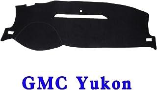 JIAKANUO Auto Car Dashboard Dash Board Cover Mat Fit for GMC Yukon 2007-2014 (Black) MR001