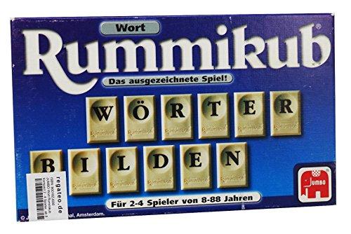 JUMBO Wort Rummikub Kompact 2 - 4 Spieler, ab 8 Jahre