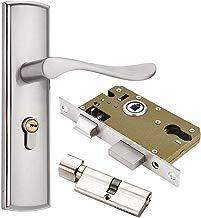Interior puerta de madera mango cerradura cerradura de la puerta de aleación de zinc, Sistema de seguridad para el hogar