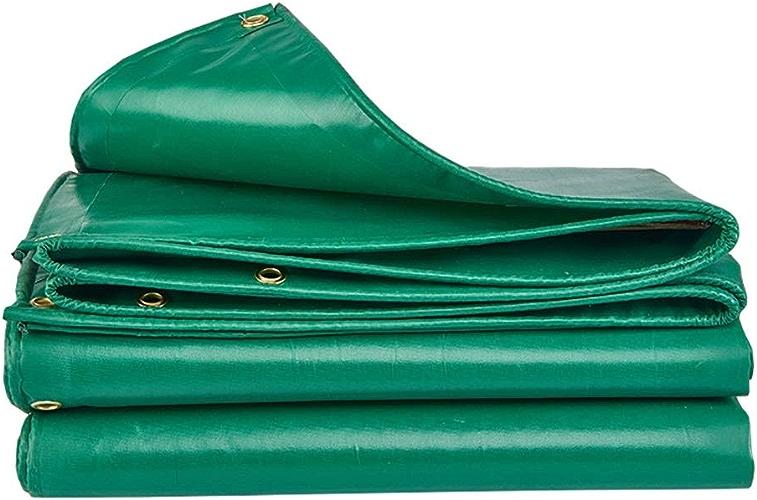 Yunyisujiao Bache Pliante Robuste, bache de Toit 450G   M2, Toile de Pluie pour Jardin, couvertures de remorque pour Tente au Sol (Couleur   2M×2M)
