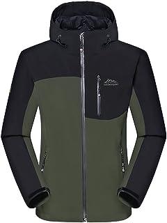 Men's Waterproof Coats Mountains Ski Jacket Warm Snow Jacket Windproof Hooded for Sport Hiking Skiing