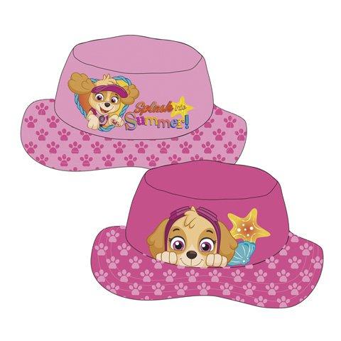 Familie24 Paw Patrol Girl Sommerhut AUWAHL Cap Kappe Schirmmütze Kinderbaseballcap (Rosa)