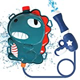 Water Gun, Squirt Gun Water Gun for Kids Water Blaster, Backpack Water Gun with 2L High Capacity Tank Adjustable Straps, Gifts for Kids Summer Pool Beach Sand Outdoor Water Fighting Play Toys