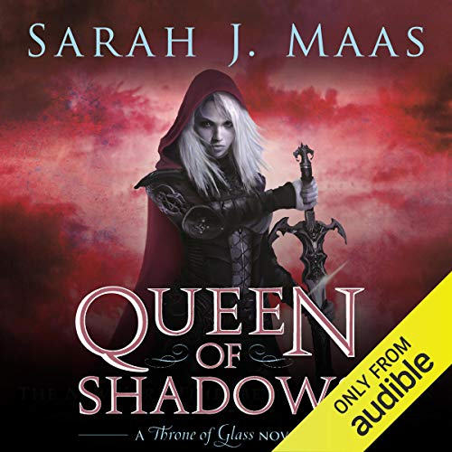 Queen of Shadows audiobook cover art