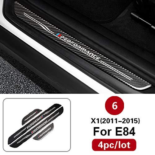 YXSMNB SchwellenwertfürEinstiegsleisten für Trittbretter, Für BMW E90 F30 E60 F10 F34 X1 X3 X4 X5 X6 3er-Reihe