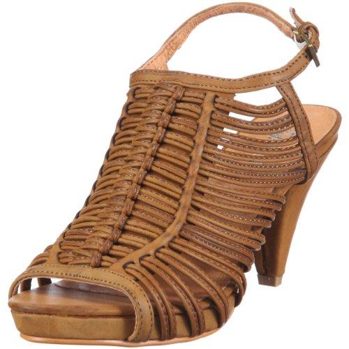 Buffalo Girl Damen 310024 YL-1021 PU Fashion-Sandalen, Braun/TAN 68, 41 EU