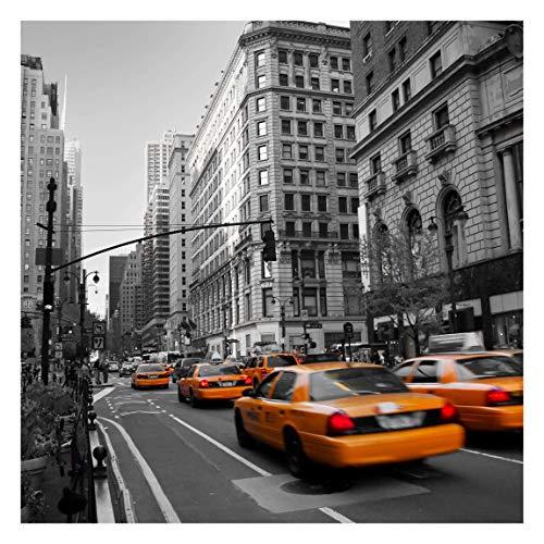 Bilderwelten Papier peint intissé - New York, New York! - Mural Carré papier peint photo intissé tableau mural photo 3D mural, Dimension HxL: 240cm x 240cm