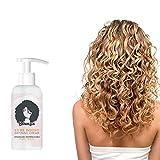 Bounzie Curl Boost Defining Cream,Super Curl Defining Booster, Lockencreme,Bounce curl Activator für Locken Sprungkraft und Locken pflege,Curly Hair product,Locken styling produkte (Rosa)