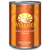 Turkey and sweet potato canned dog food from Wellness