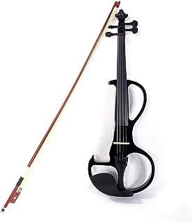 Sponsored Ad - Trlec gt4-ly 4/4 High-grade 8 Pattern Electroacoustic Violin Kit (Case Bow Rosin) Black