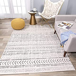 Rugshop Geometric Bohemian Design Area Rug 9' x 12' Gray (B086DW3JSP) | Amazon price tracker / tracking, Amazon price history charts, Amazon price watches, Amazon price drop alerts