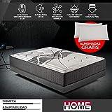 Komfortland Colchon 135x180 viscoelastico Memory Advance de Altura 26cm, 6...