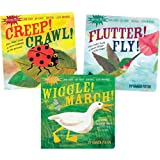 Kaplan Indestructibles Wordless Picture Books - Set of 3