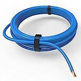 AUPROTEC Fahrzeugleitung 6,0 mm² FLRY-B als Ring 5m oder 10m Auswahl: 5m, blau