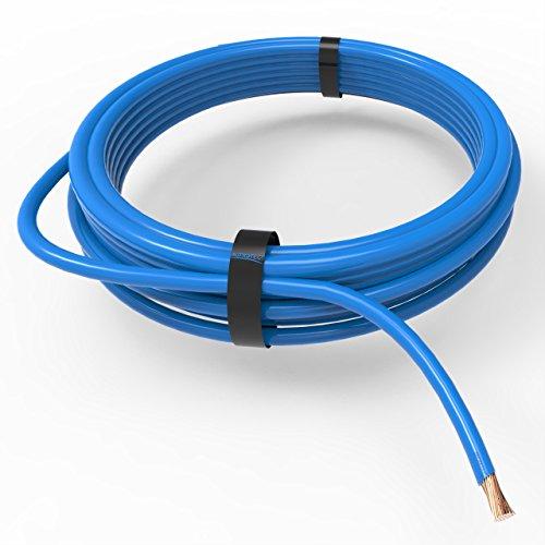 AUPROTEC Fahrzeugleitung 1,50 mm² FLRY-B als Ring 5m oder 10m Auswahl: 5m, blau