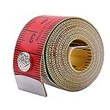 Cinta métrica Yinew para costura o sastre, 150 cm, tejido suave y plano, cintas de doble cara con cm y pulgadas