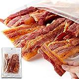 天然生活 炙り焼き豚バラジャーキー (160g) 生姜焼き 厚切り おつまみ ポークジャーキー 豚肉 珍味 徳用