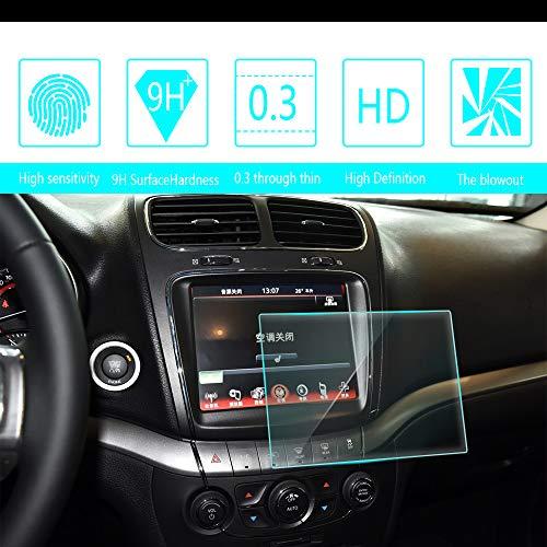 HD Screen Protector Voor Dodge Journey Ram 8.4-Inch 167 * 124mm GPS Navigatie Systeem, Gehard Glas Bescherming Film Anti-Vingerafdruk Anti-Scratch Ultra-Dunne Auto Accessoires