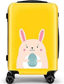 Trolley Case Female Suitcase Korean Version of The Universal Wheel Lock Box 20 Inch Cute Rabbit Student Suitcase