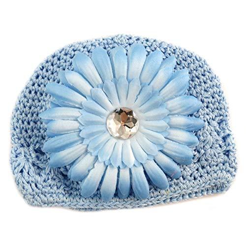Les Trésors De Lily [Q5239 - Bonnet Enfant 'Petite Lily' Bleu Ciel