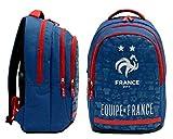 FFF Sac à Dos Scolaire 2 étoiles - Collection Officielle Equipe de France de Football