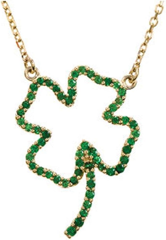 14k Max 57% OFF Yellow online shop Gold Tsavorite Necklace Garnet 16
