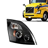 LED Headlight Lamp Replacement Compatible with 2014-2017 Volvo VNL, VNX, VNM (Right)
