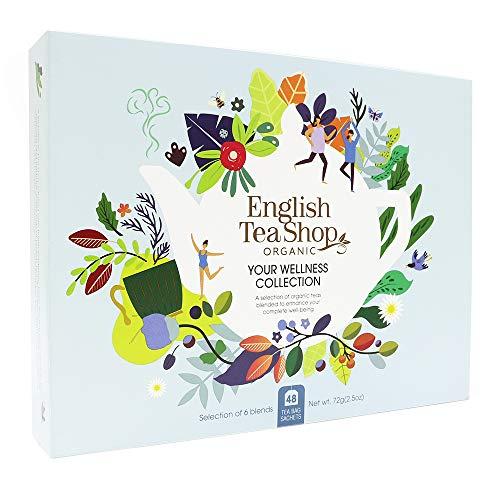 English Tea Shop Organic Your Wellness Collection Gift Pack - 48 Tea Bags...