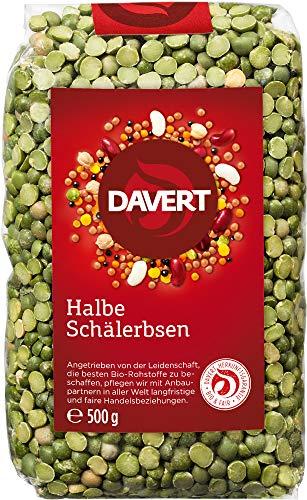 Davert Bio Halbe Schälerbsen (1 x 500 gr)