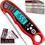 Alpha Grillers Instant Read Meat Thermometer for Grill and Cooking. Best Waterproof Ultra Fast Thermometer with...