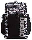 ARENA Team Backpack 45 Mochila, Adultos Unisex, Neon Glitch (Azul), Talla Única